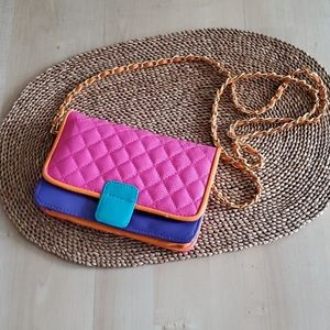 Colorful vintage bag